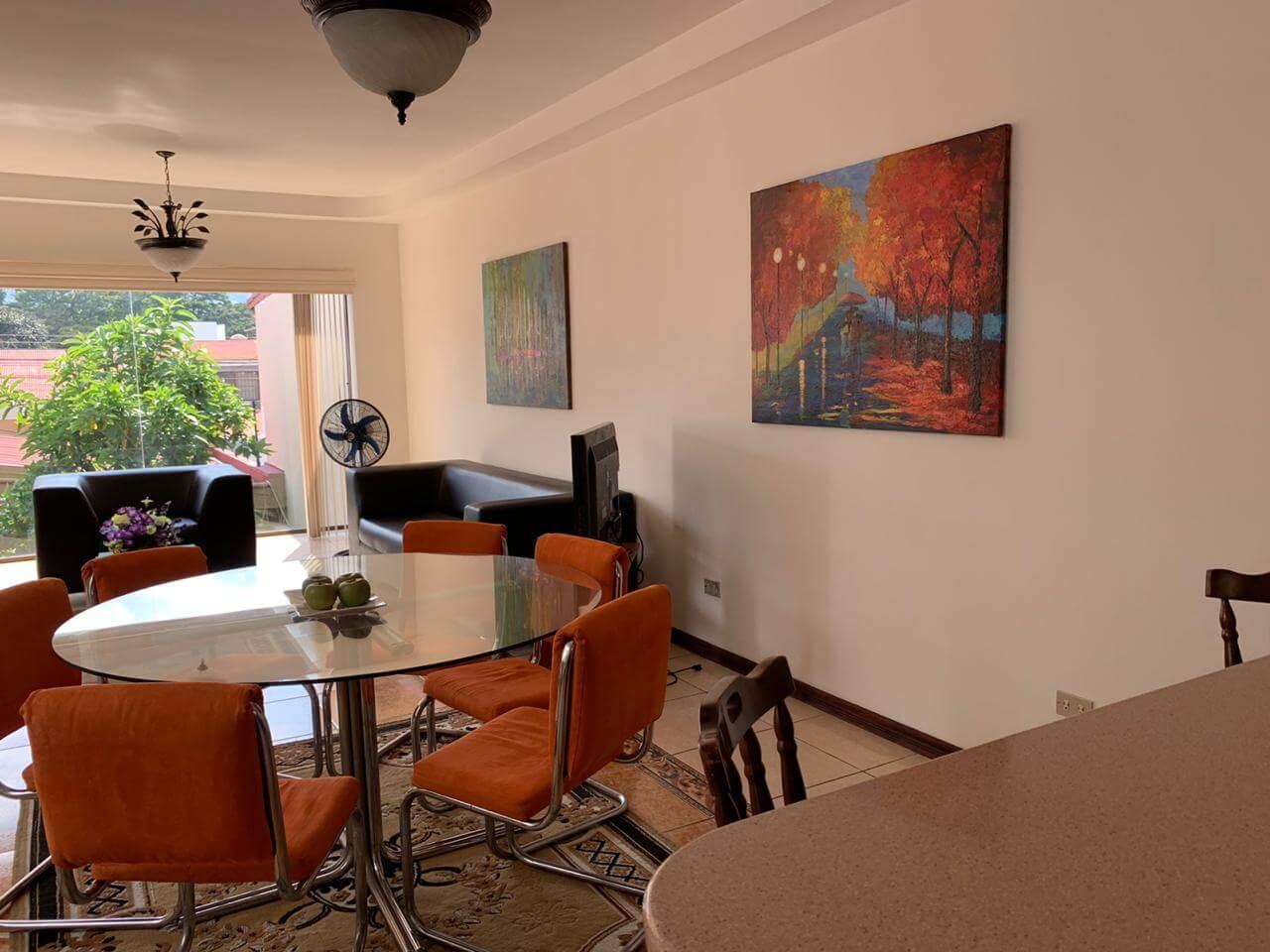 Alquiler apartamento, Trejos Montealegre Escazú