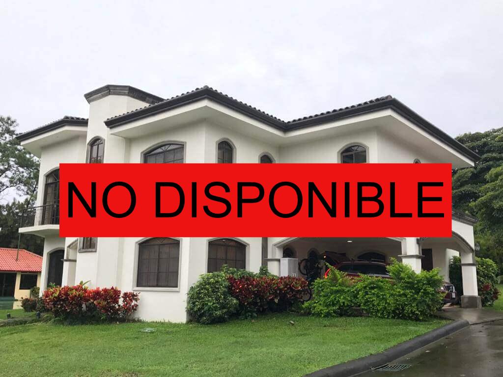 Alquiler de Casa en Alquiler Rio Oro Santa Ana
