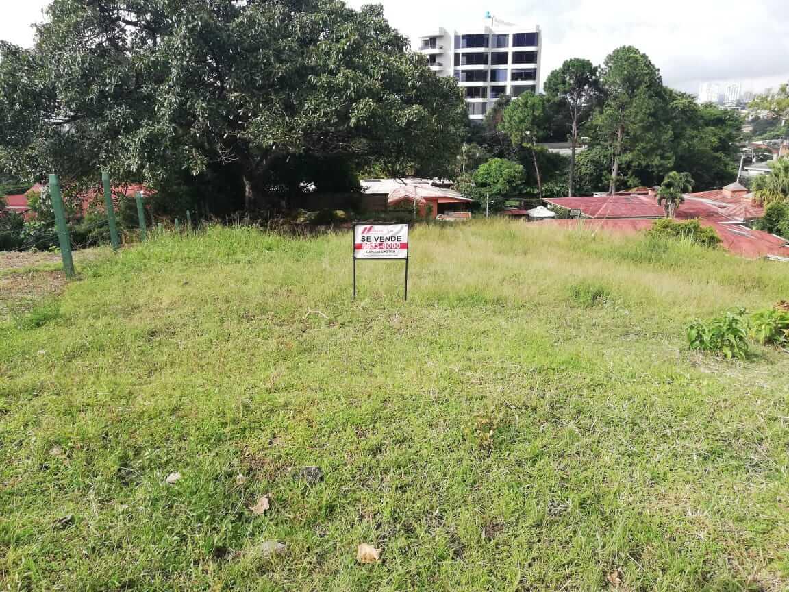 Venta de lote residencial en Escazu