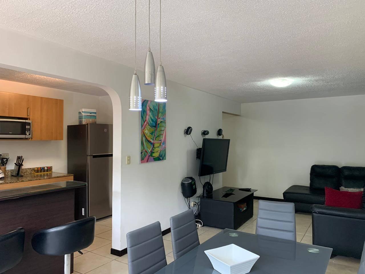 Venta Apartamento Bosque Real-Concasa Amoblada San Rafael de Alajuela